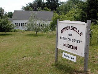 photo of BHS Museum & sign